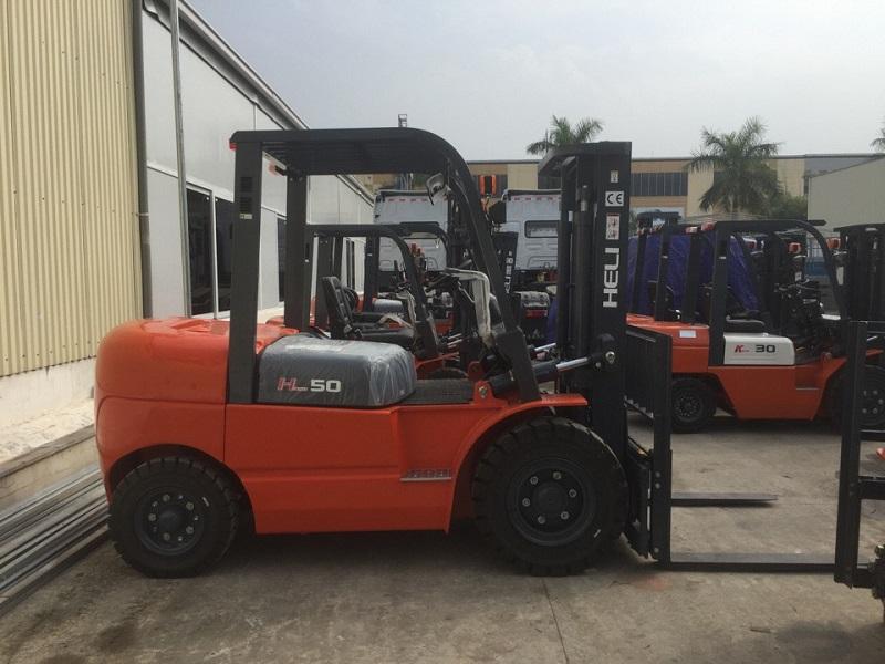 Xe nâng Heli 5 tấn H-Series