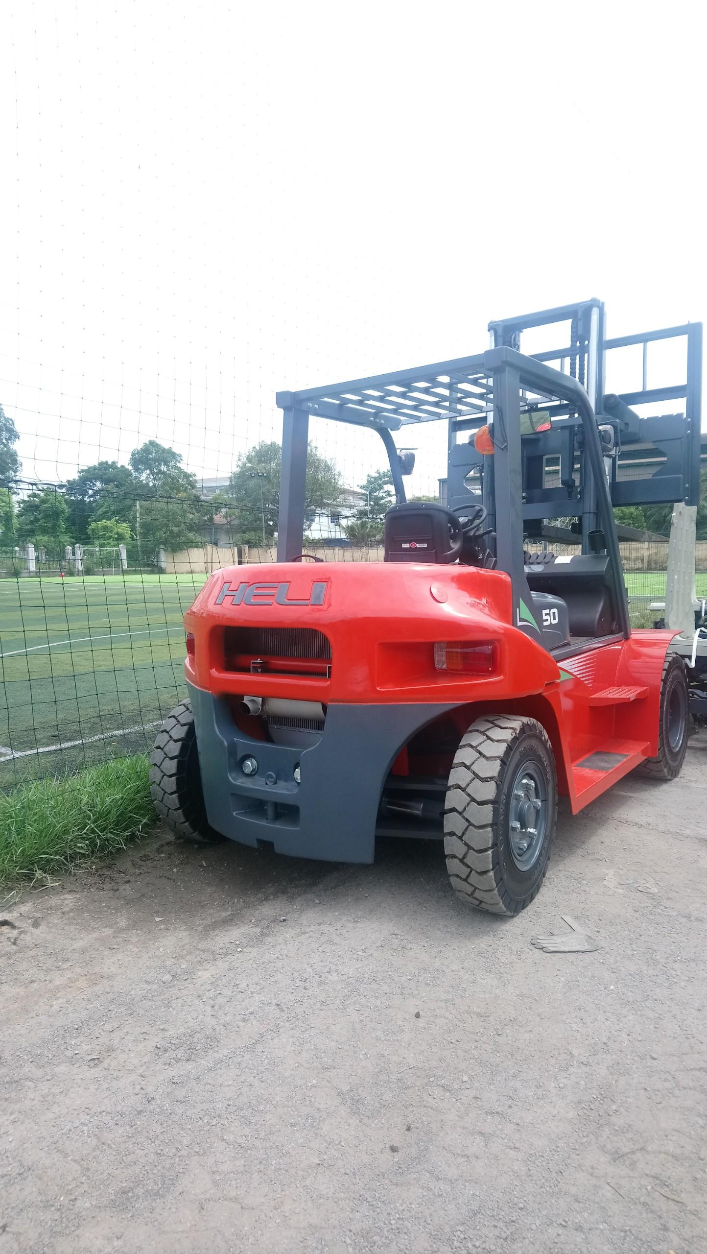 Xe nâng hàng 5 tấn Heli G-Series