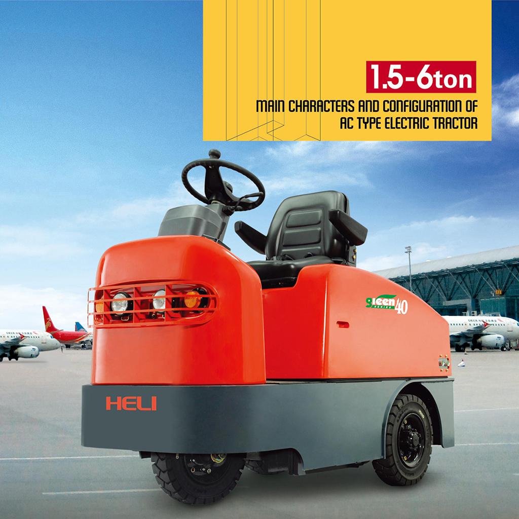 Xe kéo hàng chạy điện Heli QYD 15S-60S