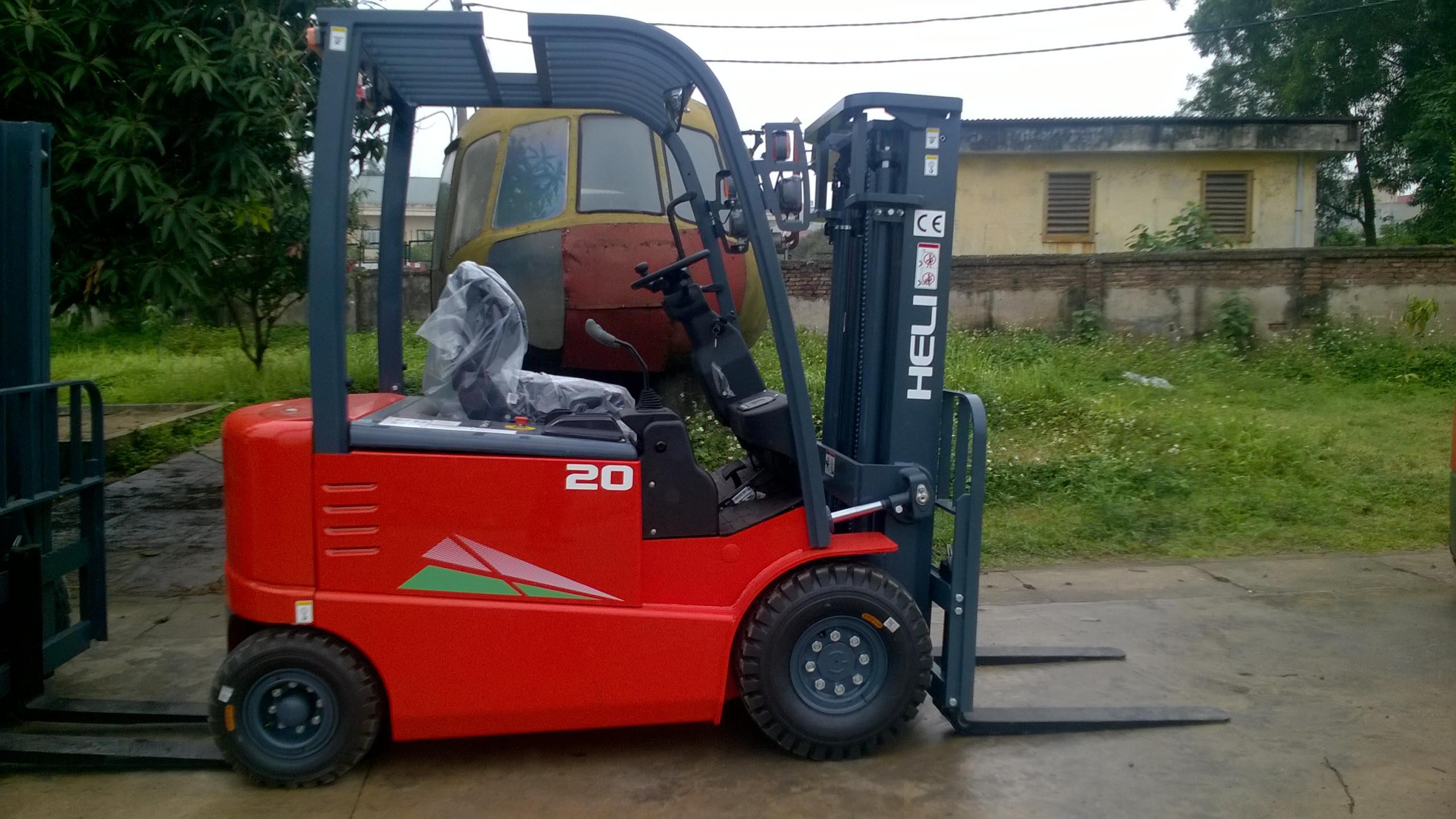Xe nâng điện ngồi lái Heli 2 tấn G-Series