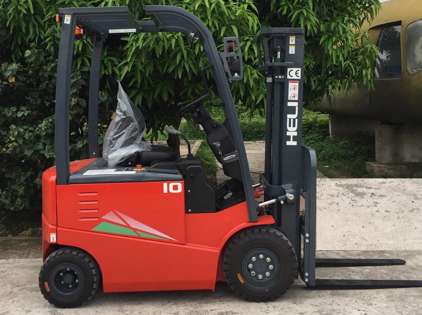 xe nâng điện tấn ngồi lái Heli 1 tấn G-Sereis