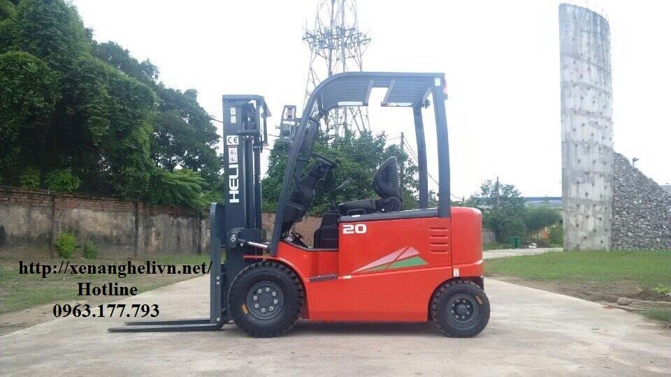 Xe nâng điện 2 tấn Heli
