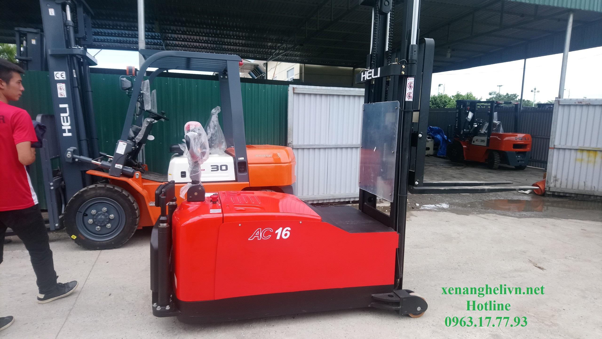 Xe nâng điện đối trọng CDD16 - 970