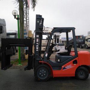 Xe nâng Heli 3.5 tấn kẹp gạch Tuynel