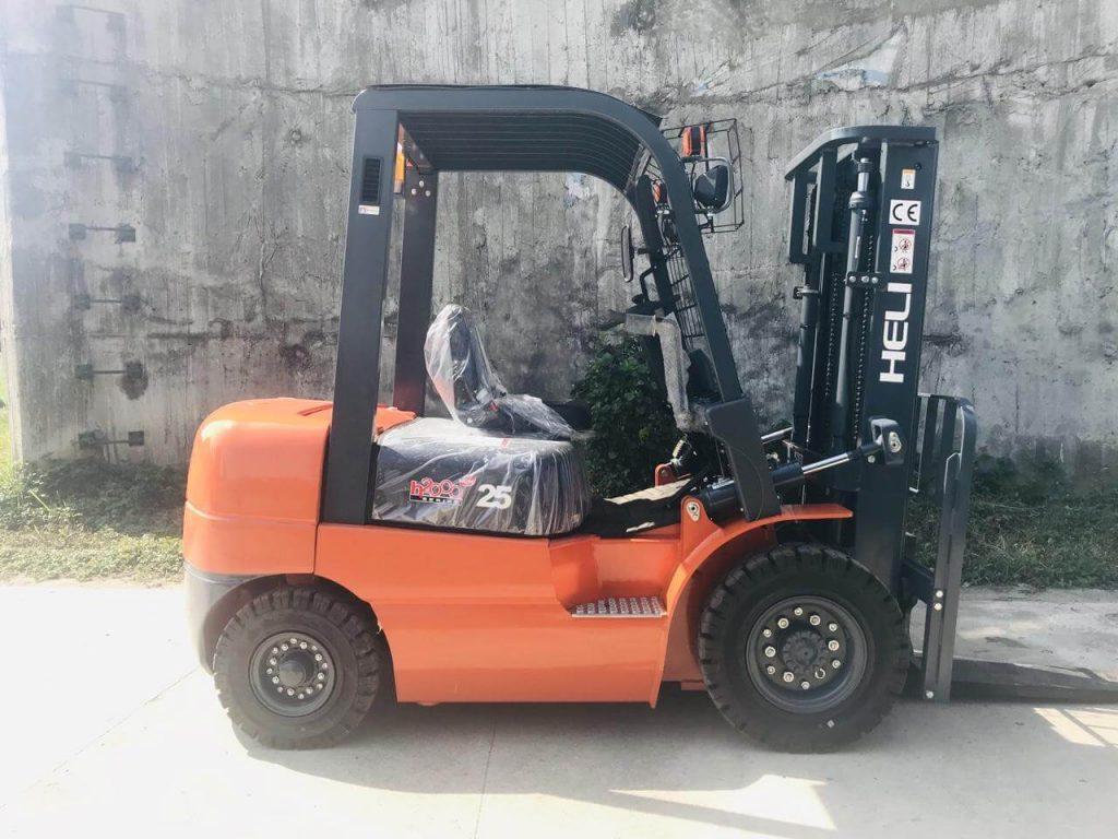 Xe nâng 2.5 tấn Heli Trung Quốc