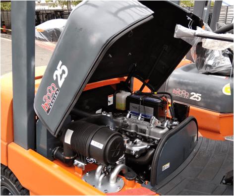 Capo và động cơ xe nâng 2.5 tấn Heli H2000