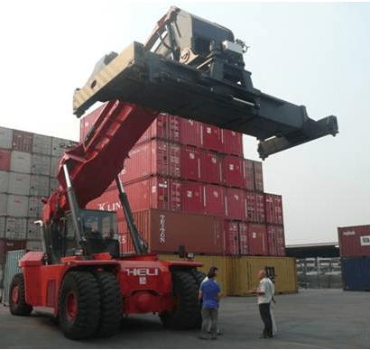 Xe nâng container Heli mạnh mẽ, bền bỉ