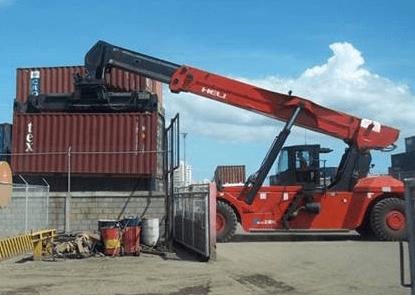 Xe nâng container Heli chất lượng cao