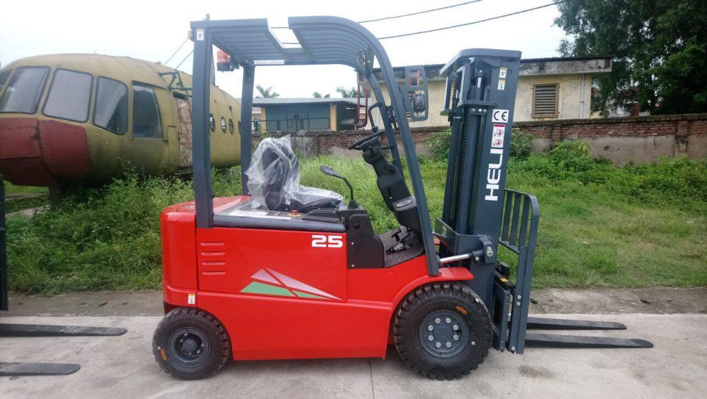 Xe nâng điện 2.5 tấn Heli chất lượng tốt