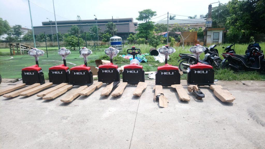 Mua bán xe nâng tại Tiền Giang-Xe nâng tay điện