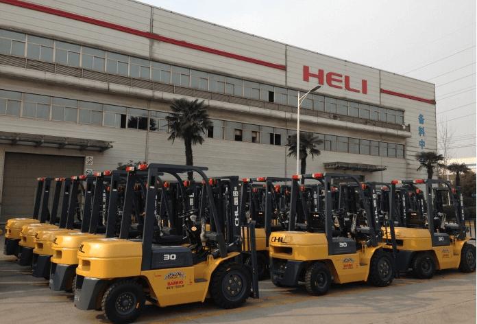 Cung cấp xe nâng chính hãng tại Việt Nam