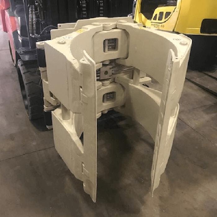 Bộ kẹp giấy cuộn trên xe nâng Heli