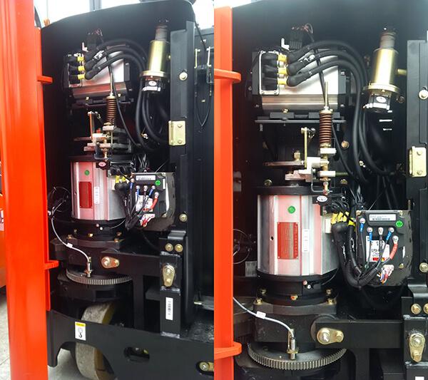 Motor xe nâng điện đứng lái Heli