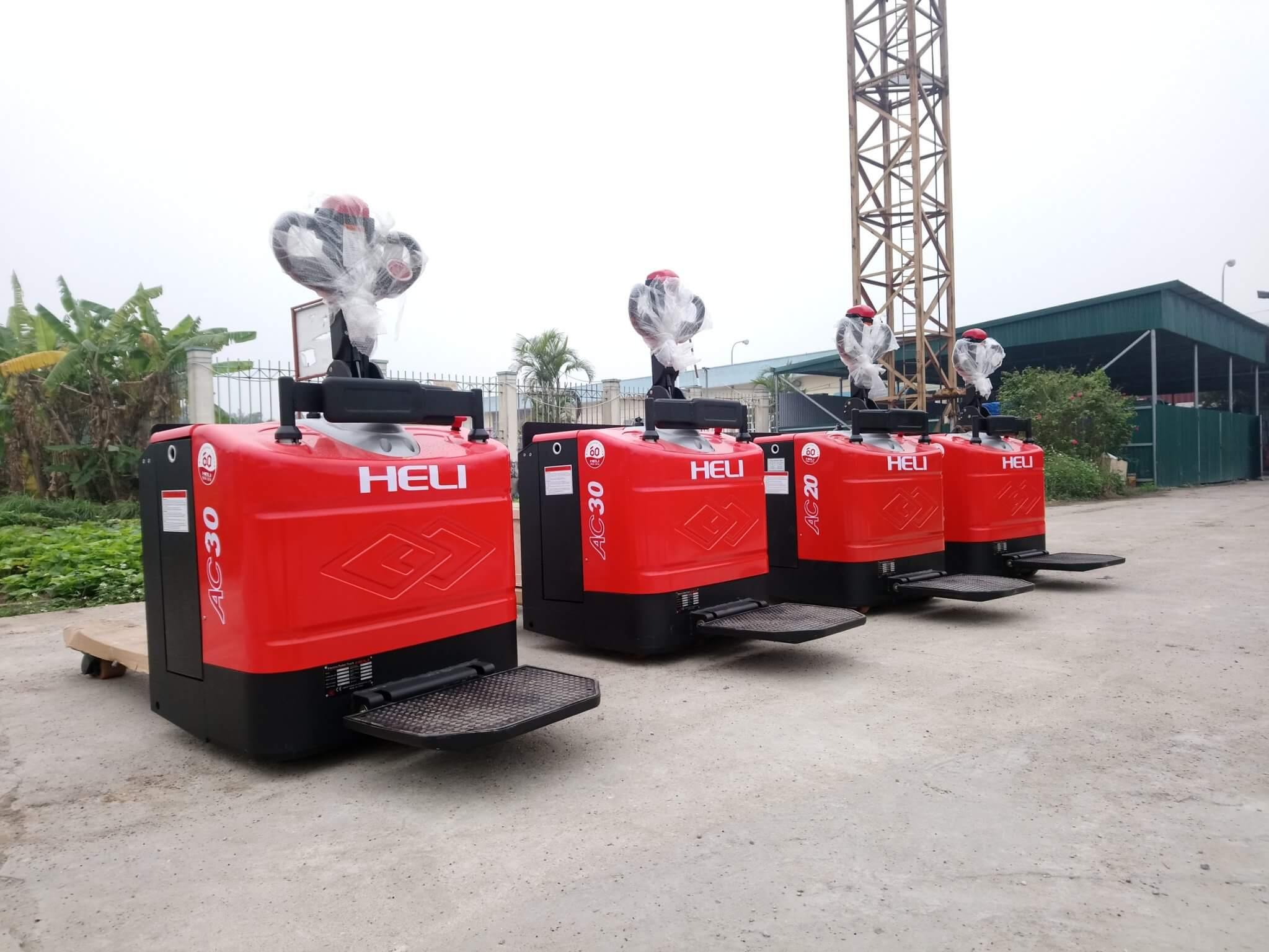 Xe nâng tay điện 2 tấn Heli CBD20-460